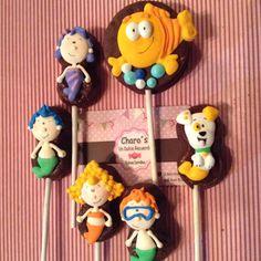 Paletas de bubulubu decorado personajes