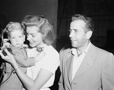 Lauren Bacall, Humphrey Bogart, Stephen Bogart