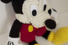 Mickey Mouse Crochet Pattern | Knitting Bordado Disney Crochet Patterns, Crochet Disney, Crochet Amigurumi Free Patterns, Crochet Dolls, Free Crochet, Mickey Mouse Doll, Crochet Mickey Mouse, Crochet Mermaid Tail, Crochet Teddy Bear Pattern