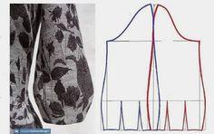 Coat Patterns, Dress Sewing Patterns, Clothing Patterns, Sleeves Designs For Dresses, Sleeve Designs, Diy Clothing, Sewing Clothes, Sewing Coat, Pattern Drafting Tutorials