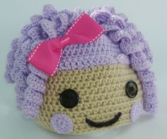 Pillow Feather Bed Lalaloopsy Inspired Hat Hand by BippityBoo