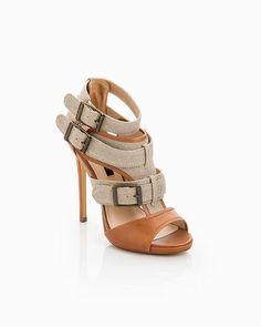 Sexy buckle heels!