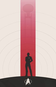 The Captains of Star Trek Minimalist Posters | Sci-Fi Design