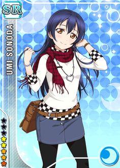 Umi Sonoda - Love Live [Cards] - Manga y anime en Taringa! Cute Girls, Cool Girl, Umi Love Live, Chibi, Oriental, Live Picture, Anime Outfits, Anime Love, Kawaii Anime