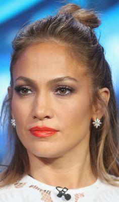 jenniferlopez-ukraine.blogspot.com  Jennifer Lopez - 'American Idol' panel during the 2016 Winter TCA Tour in Pasadena, CA 01/15/2016 #JenniferLopez #JLo #makeup #beauty #face #celeb #prettyface #eyes