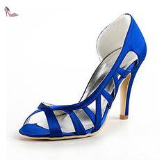 Minitoo , Escarpins pour femme - Bleu - Blue-10cm Heel, - Chaussures minitoo (*Partner-Link)