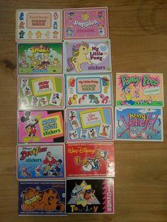 Stickerboekjes