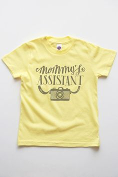 Mommy's Assistant Kids Girls Tee