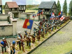 Wargaming with Silver Whistle: Perry Miniatures War of the Roses Blue and Murrey Plastic Toy Soldiers, Wars Of The Roses, Tin Man, Fencing, Warfare, Minis, Warriors, Burns, Medieval