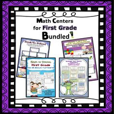 CCSS Aligned - 1.OA  This is a huge bundle of activities for centers and guided math groups! 98 total pages!!! Save over $4 by buying the bundle. Less than $3 per set!