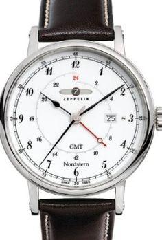 Graf-Zeppelin-Nordstern-Series-Swiss-Quartz-GMT-Watch-with-Coin-Edge-Case-7546-1-0