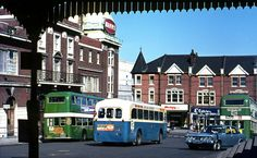 Southend Central Station forecourt 1971.