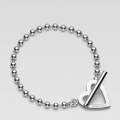 Beautiful Gucci heart bracelet