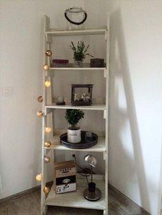 Pallet Stair Style Display Unit - 150+ Wonderful Pallet Furniture Ideas   101 Pallet Ideas - Part 2