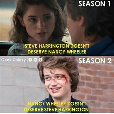 "35 Stranger Things Memes To Celebrate Season 3 (SPOILERS) - - 35 Stranger Things Memes To Celebrate Season 3 (SPOILERS) - Funny memes that ""GET IT"" and want you to too. Get the latest funniest memes and keep up what is going on in the meme-o-sphere. Letras Stranger Things, Stranger Things Quote, Stranger Things Have Happened, Stranger Things Steve, Stranger Things Aesthetic, Stranger Things Netflix, Steve Harrington Stranger Things, Stranger Things Season 3, Stranger Danger"