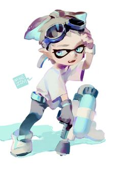 Is it just me or this inkling is extremely cute? :3