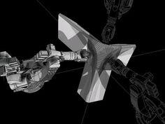 Curved Folding Fabrication Simulation