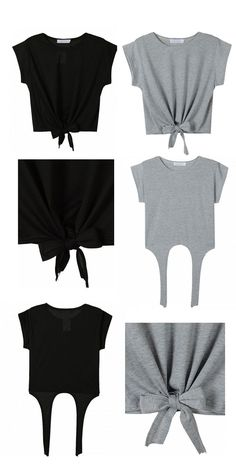 nice Wardrobe essentials - black and gray Only $7.99 For latest fashion clothes visit...