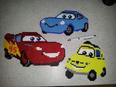 #cars #disney #mcqueen #hama #pearlbeads #perler #pearl #beads