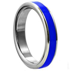 This stainless steel cock ring will deliver a firmer erection while offering increased intensity and heightened arousal...not to mention your penis will look am