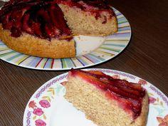 Môj sladký život v Koláčikove: Obrátený slivkový koláč Cheesecake, Desserts, Food, Tailgate Desserts, Deserts, Cheesecakes, Essen, Postres, Meals