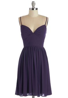 Looking Red Haute Dress in Violet. Youll be ready for a night on the town as soon as you don this misty purple dress! #purple #modcloth