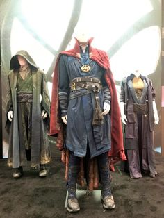 First look at Comic-Con: Doctor Strange, Ancient One, & Mordo costumes!