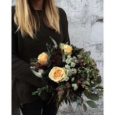 #whenflowersmatchpeople Autumn Bunches were flying out of the shop on this glorious day