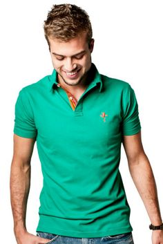 My husband would look so fly in this shirt. It would make his green eyes really pop. He's trying to up his style game, so I'll have to pass this along to him.