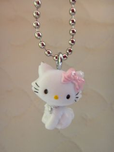 Sanrio Charmmy Kitty Charm Necklace by SFMissionFinds on Etsy, $5.00