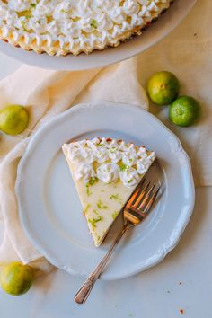 Key lime pie is definitely an icon of Key West, Florida and a delicious dessert and even better as key lime tart. Using meringue instead of whipped cream is also a popular choice.
