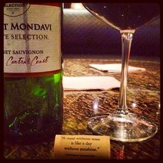"""Mondavi couldn't have been more right."" -- Photo by @vforvalle on Instagram"