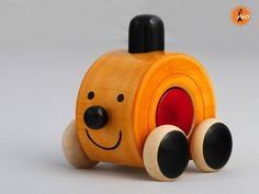 Moee(Red) wooden toy from Lal10.com