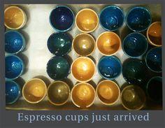 Espresso cups for sale.