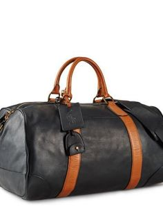 Polo Ralph Lauren Smooth Leather Duffle Bag - Polo Ralph Lauren Duffle - Ralph  Lauren France d220a8ffca