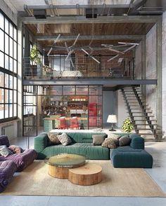 "21 Likes, 1 Comments - Shannon Fitzgerald (@shannonfitzgerald) on Instagram: ""Lofty goals and lofty vibes #loft #loftstyle #decor #interiors"""