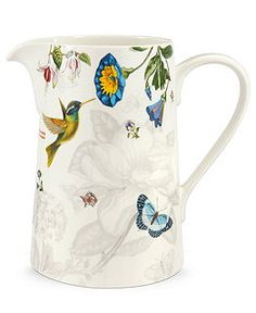Portmeirion Botanic Hummingbird Pitcher
