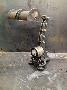 Steampunk lampe lampe industrielle lampe de par MachineBrothers