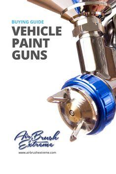 Choose the right car paint gun. Cycle Painting, Car Painting, Spray Painting, Body Painting, Car Spray Paint, Car Paint Jobs, Using A Paint Sprayer, Auto Body Repair, Car Hacks