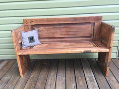 The Backyard Bear Arts and Crafts Studio Bear Art, Outdoor Furniture, Outdoor Decor, Bench, Arts And Crafts, Backyard, Rustic, Pillows, Studio