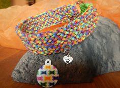 Hund: Halsbänder - Mummenschanz und Firlefanz KCA 37 Hundehalsband - ein Designerstück von Gluecksmarken bei DaWanda