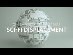 [Cinema + After Effects] Sci-Fi Displacements Cinema 4d Tutorial, 3d Tutorial, Good Tutorials, Design Tutorials, Motion Design, Design Thinking, After Effects, Design Ios, Film World