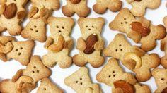 Petits sablés Nounours & amandes (12 pièces)