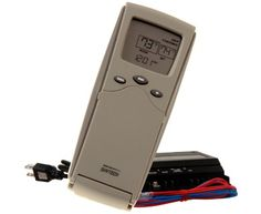 Skytech 1410 TH Thermostatic Fireplace Remote Control with 110v ...