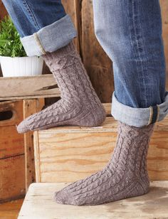 Yarnspirations.com - Patons XOX Socks for Him - Patterns  | Yarnspirations
