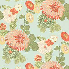 beautiful wallpapers - thibault designs - maybe for back of bookshelves in kitchen? and/or pantry?