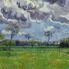 A Vincent van Gogh painting of a landscape scene could sold for $54 million on Thursday.