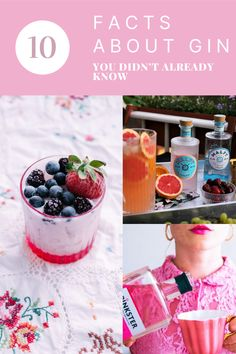 Cocktails Made With Gin, Cocktail And Mocktail, Classic Cocktails, Fun Cocktails, Smoothie Recipes, Smoothies, Scottish Gin, Gin Brands, Best Cocktail Recipes