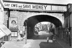 King Street railway bridge, pictured in 1951 Great Photos, Old Photos, Cool Pictures, Plymouth England, Devon Uk, Little Shop Of Horrors, Water Tower, Fireworks Gif, Beryl Cook