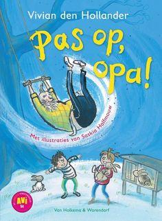 Vivian den Hollander - Pas op, opa! (6+) Grandma And Grandpa, Roald Dahl, Children, Kids, Disney Characters, Fictional Characters, Snoopy, Van, Education